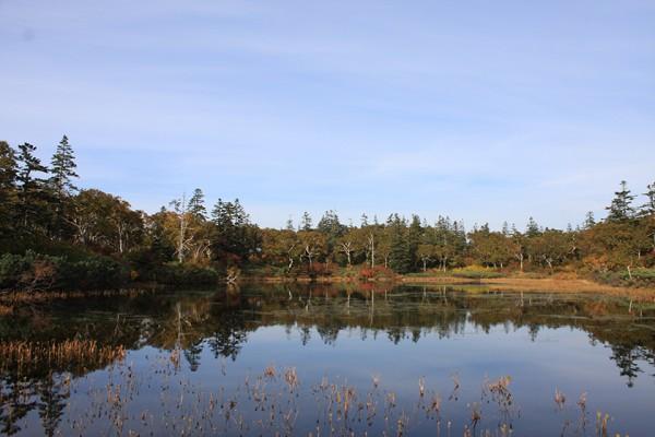 共和町 神仙沼の風景